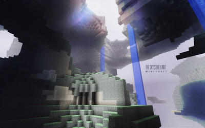 Minecraft: The Sky's the Limit by Kidbomber