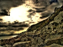 Cliff Base by wreck-photography