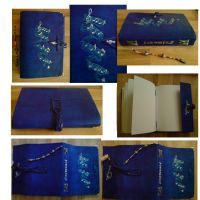 Handmade Leather Book For Desi by alylovesu2