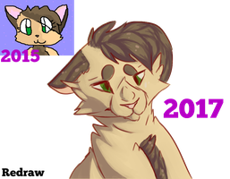 Oc Redraw- 2015-2017 by Snow-but-its-blue
