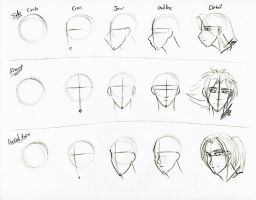 Face Sketch Tutorial by Juacamo