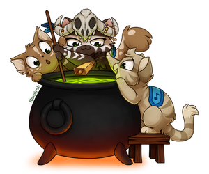Alchemy Kitties by Kamirah