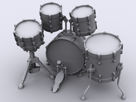 Drum Kit W.I.P by Squint911