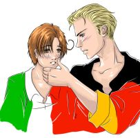Germany and Italy by RallyPchan