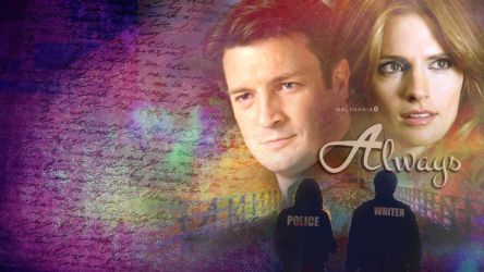 Castle-Beckett Wall by malshania