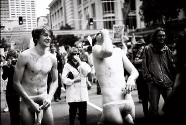 apec 3 - nude protestors by bearscanbemean