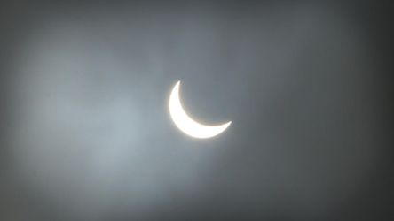 Partial Eclipse by Felvin