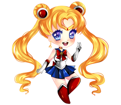 Sailor Moon by RavenMomoka