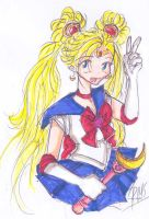 Sailor Moon AGAIN by heart-of-glass