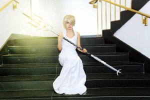 Lunafreya - The Vow by CrystalMoonlight1