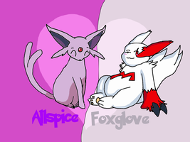 Allspice and Foxglove by legoboy20