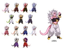 [CvS2] Android21 Palettes by XTP597