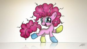 Filly Pinkie says thank you! by Dori-to