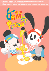 Oh My Pizza! by jenopizza