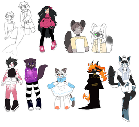 redesigning new chars i just got by xCrowe