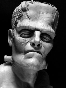 The Frankenstein Monster by 3dmetrius
