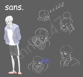 Sans references by Anna2479