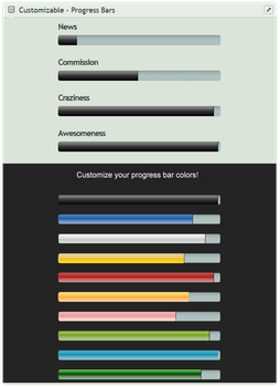 Progress Bar (for Custom box) by CypherVisor