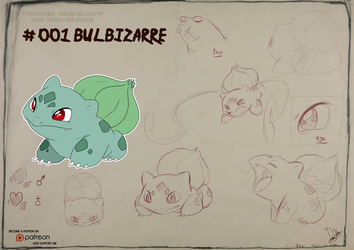 001 Bulbasaur by Dormin-Kanna