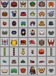Custom pixel art set of RPG resources! by TheUnHolyDarkth