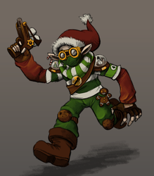 December T4 - Christmas Squad's Elf by GTK666