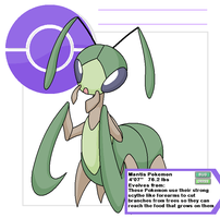 Mantis 2 by Cerulebell
