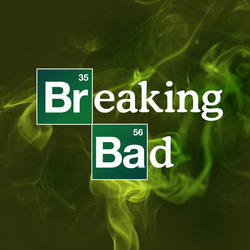 Breaking Bad Logo Wallpaper by RobinLe