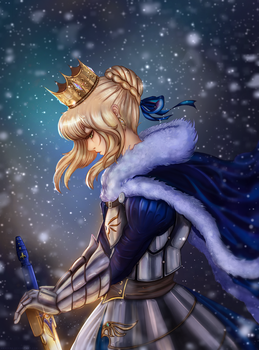 Artoria Pendragon by Amadera