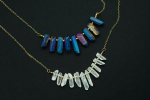 Mith wide Necklace by Shape-hunter