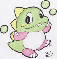 Bub - Bubble Bobble by Boltonartist