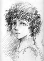 Young Frodo by veter-osot
