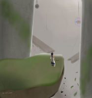 Trico? [The Last Guardian] -- Drawcember 19/16 by oh-no-Castiel