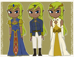 Queen Tetra -Personal HC- Outfits by Icy-Snowflakes