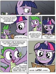 Maybe Later, Spike -2 by RedApropos