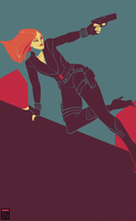 Black Widow by FionaCreates