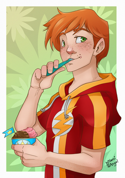 DC: Ice creams! by Nami-Angel
