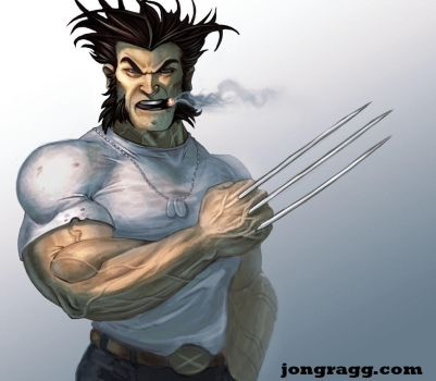 Wolverine  by JonathanGragg