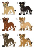Lion Cub Adopts CLOSED by MikacesAdopts