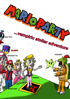 Tsuki in a Mario Party by DrPingas