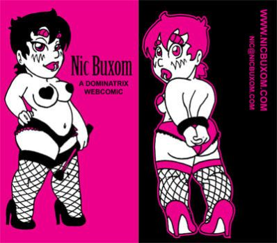 NicBuxom Business Cards by FatBottomedGirl