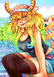 [DRAGON MAID] - LUCOA by neonUFO