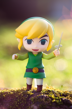 Link: Wind Waker by Bellechan