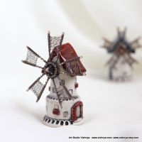 Strawberry Fairy Mill by vavaleff