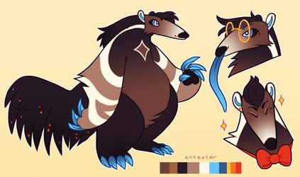 Snazzy Anteater - Design by thekingtheory