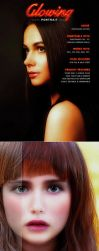 Glowing Portrait Action by newdesigns