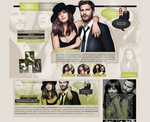 Third layout for my website ++ by itsmeleighton