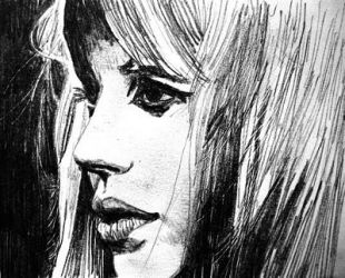 Marianne Faithfull by raschiabarile