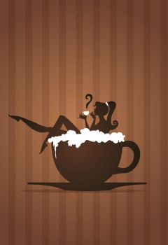 Coffee Girl by Coolgraphic