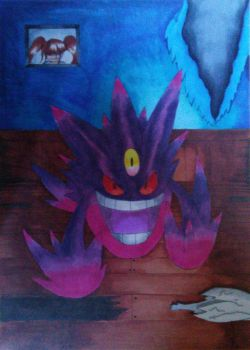 gengar by Shadow-Storm99