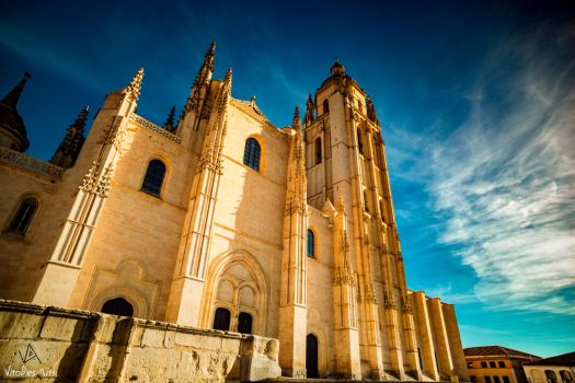 Segovia Cathedral #4 by VitoDesArts
